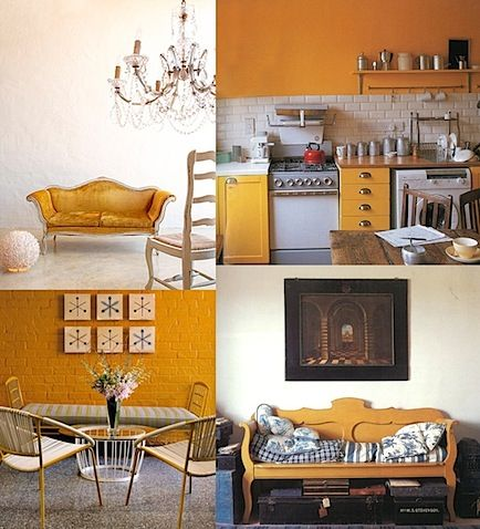 Tumeric Yellow Cumin Inspiration Board Interior Design