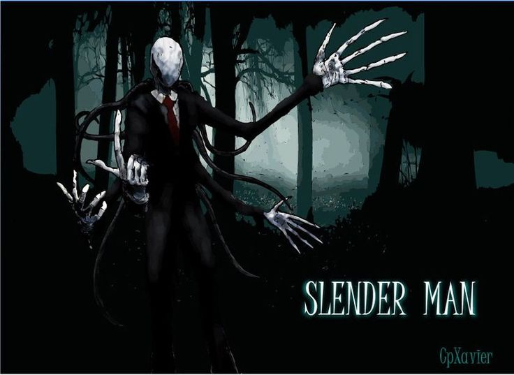 SLENDER MAN by ~cpxavier on deviantART