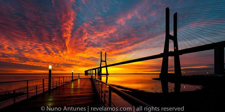 Portugal - Ponte Vasco da Gama ©Nuno Antunes