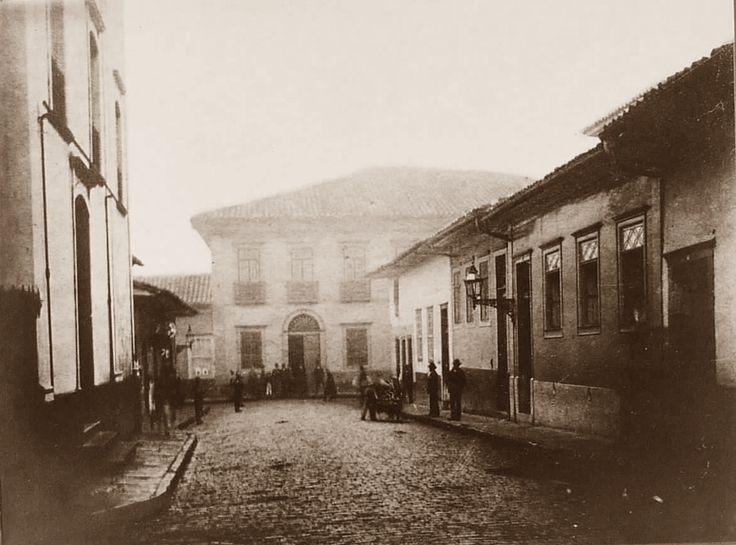 Rua Direita - casa da baronesa 1862