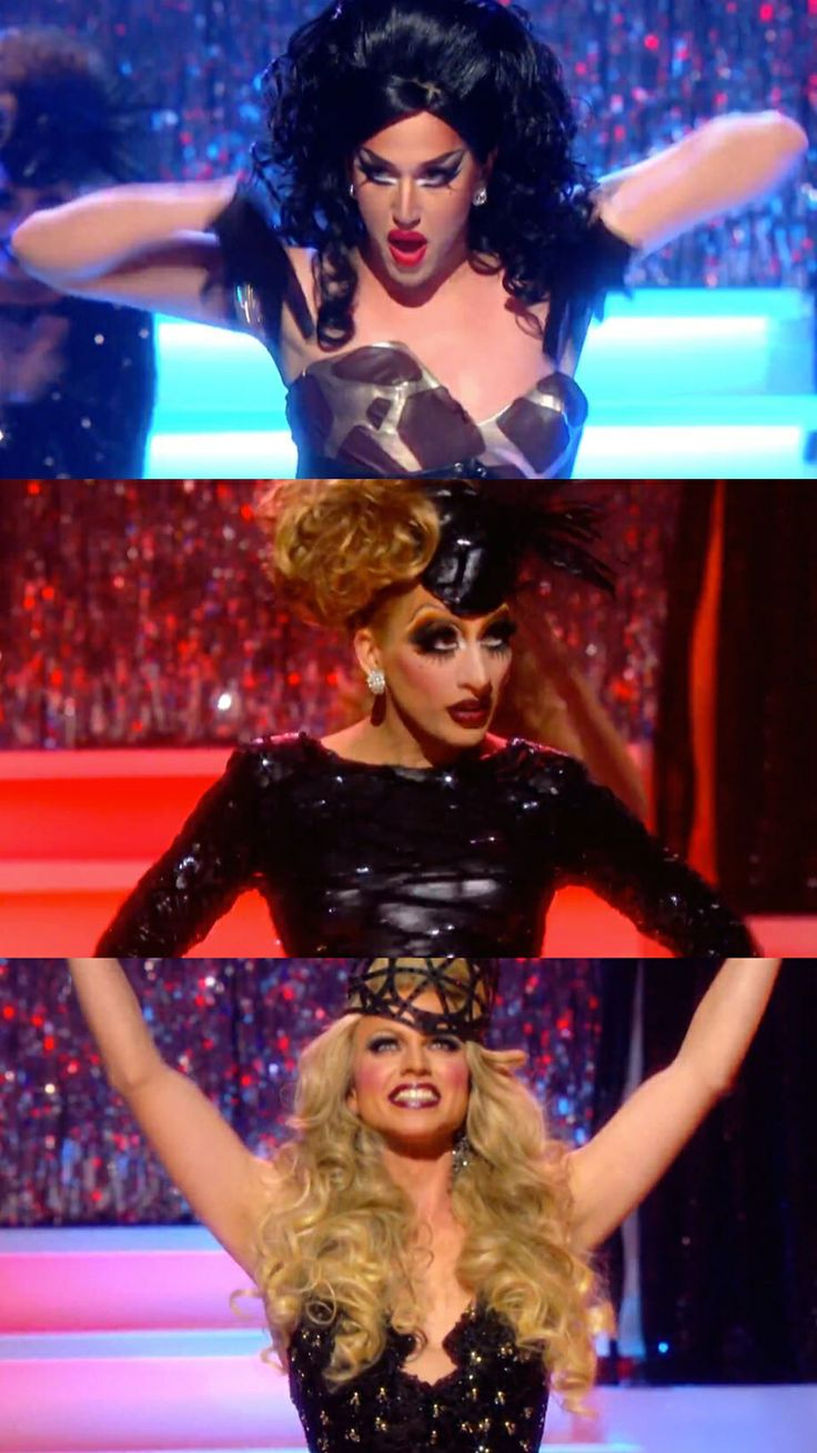 Top 3 Finalists on Rupaul's Drag Race Season 6: Adore Delano, Bianca Del Rio and Courtney Act