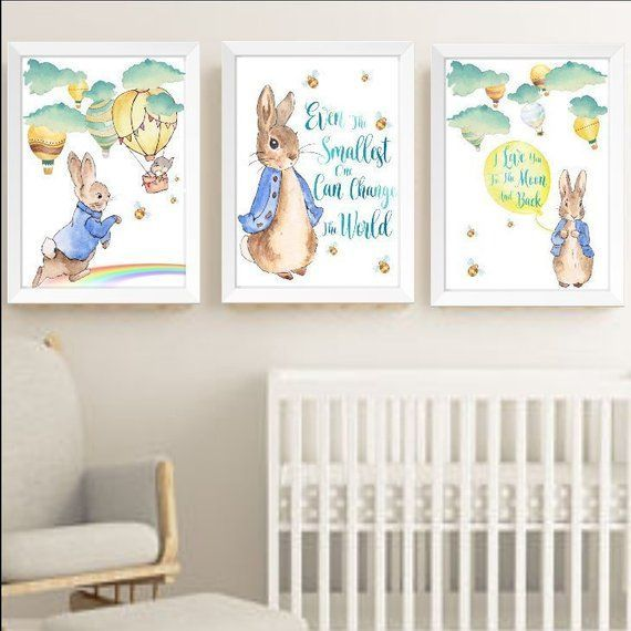 Peter Rabbit And Hot Air Balloons