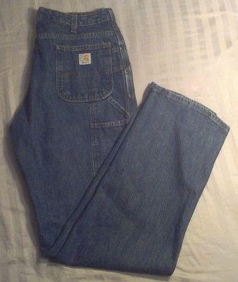 Womens Carhart Jeans 14x34   eBay
