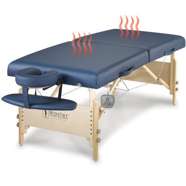 Heated Massage Table.