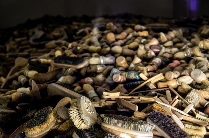 Auschwitz | by Thepacekeeper  Block 5. Personal items brought by Jews deported by German Nazis for extermination.