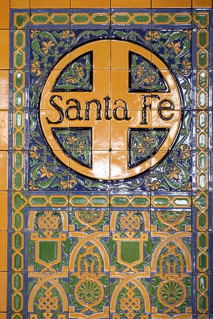 Santa Fe station in San Diego, CA  Great Grandpa worked for Santa Fe as an engineer and conductor in the southwest and southern California in the early 1900s.