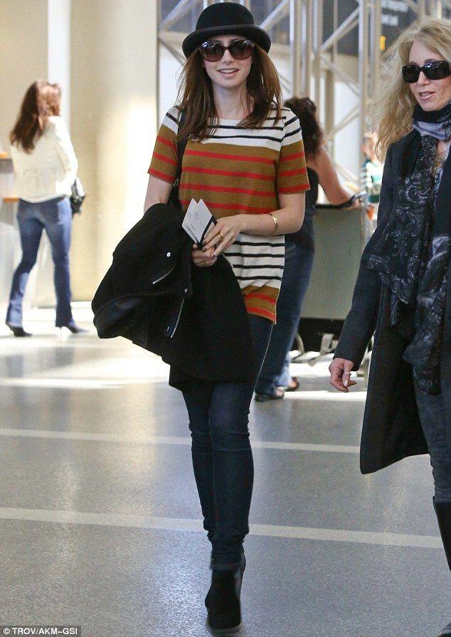 Trendy in stripes.