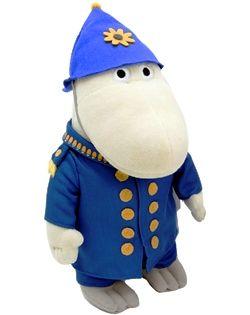 Muumi pehmo poliisimestari