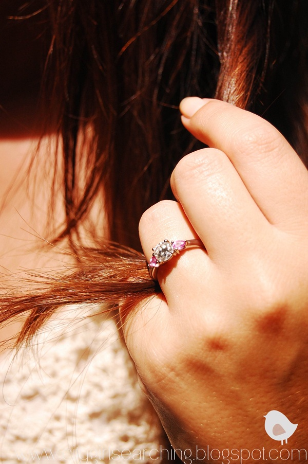 pink sapphire & diamond engagement ring - Yeah, this would pretty much be AMAZING