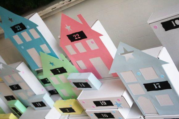 Paper Town Advent Calendar   Titatoni