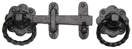 M.Marcus Tudor TC543 Cast Iron Ring Handle Gate Latch 170mm Tudor cast iron ring handle gate latch. Ring handle diameter measures 72mm and the gate latch length is 170mm. This malleable iron gate latch is part of the Heritage Brass Tudor collection and is supp http://www.MightGet.com/january-2017-12/m-marcus-tudor-tc543-cast-iron-ring-handle-gate-latch-170mm.asp
