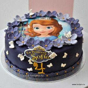 Самый красивый торт Принцесса София 16308