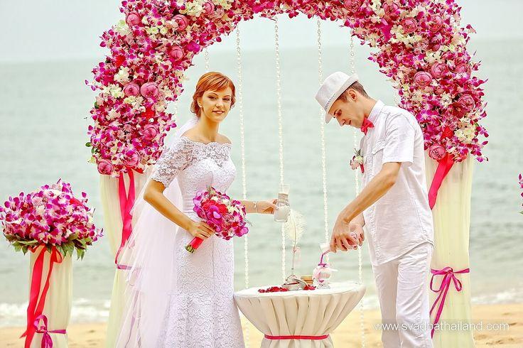 Организовать свадебную церемонию в Тайланде на пляже
