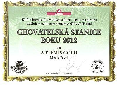 Artemis Gold Kennel - Golden Retriever & Labrador Retriever