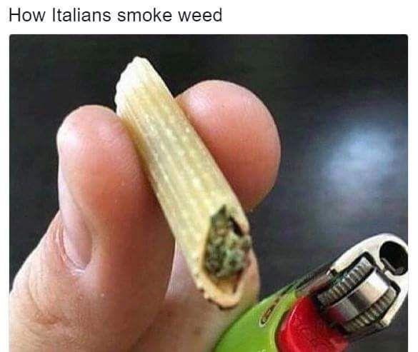 Eat Healthy Food Smoke Weed