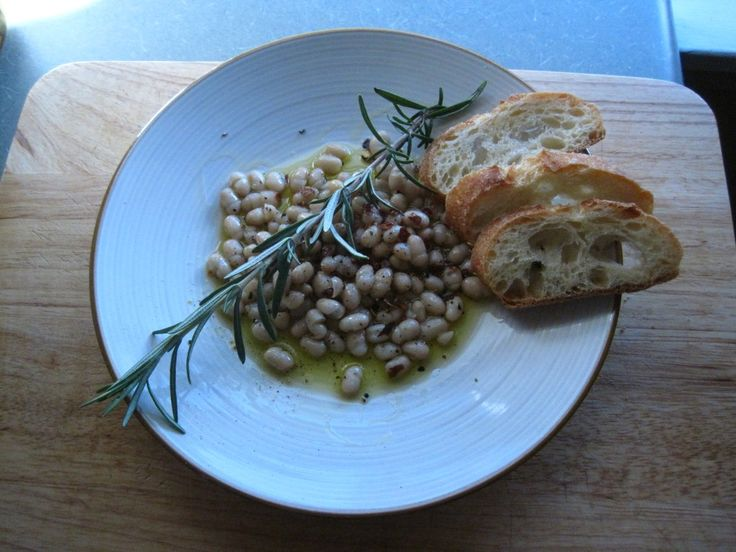 White Bean bruschetta | Edibles | Pinterest
