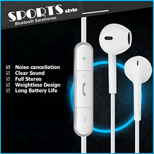 Special Offers - Bluetooth Earbuds Headphones with Mic From BT Waves  Best Noise Cancelling Sport Style in Ear Wireless Stereo Headset Enjoy Clear Sound on the Move - In stock & Free Shipping. You can save more money! Check It (May 25 2016 at 03:58PM) >> http://ift.tt/20zS7Pa