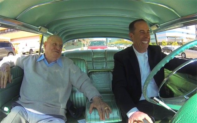 seinfeld and don rickles stretch out in classic caddy for latest cicgc cars comedians and. Black Bedroom Furniture Sets. Home Design Ideas