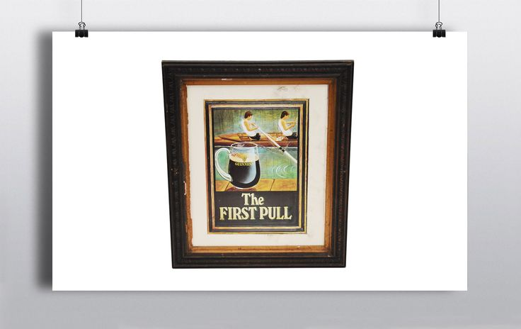 'The First Pull' Picture Frame (64cmx54cm) http://www.prophouse.ie/portfolio/the-first-pull/