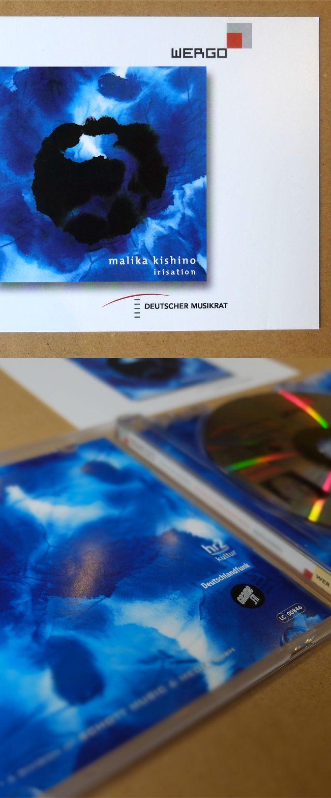 Jaquette de CD pour Malika Kishino, Musique contemporaine et expérimentale