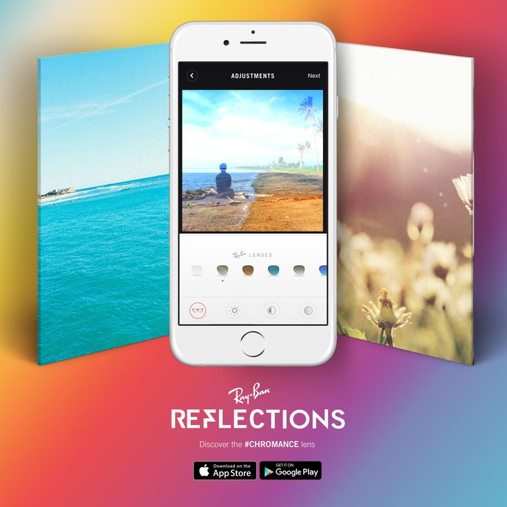 Shoot, edit and blend your best images with #Chromance // Available in our #Reflections app for iOS and Android