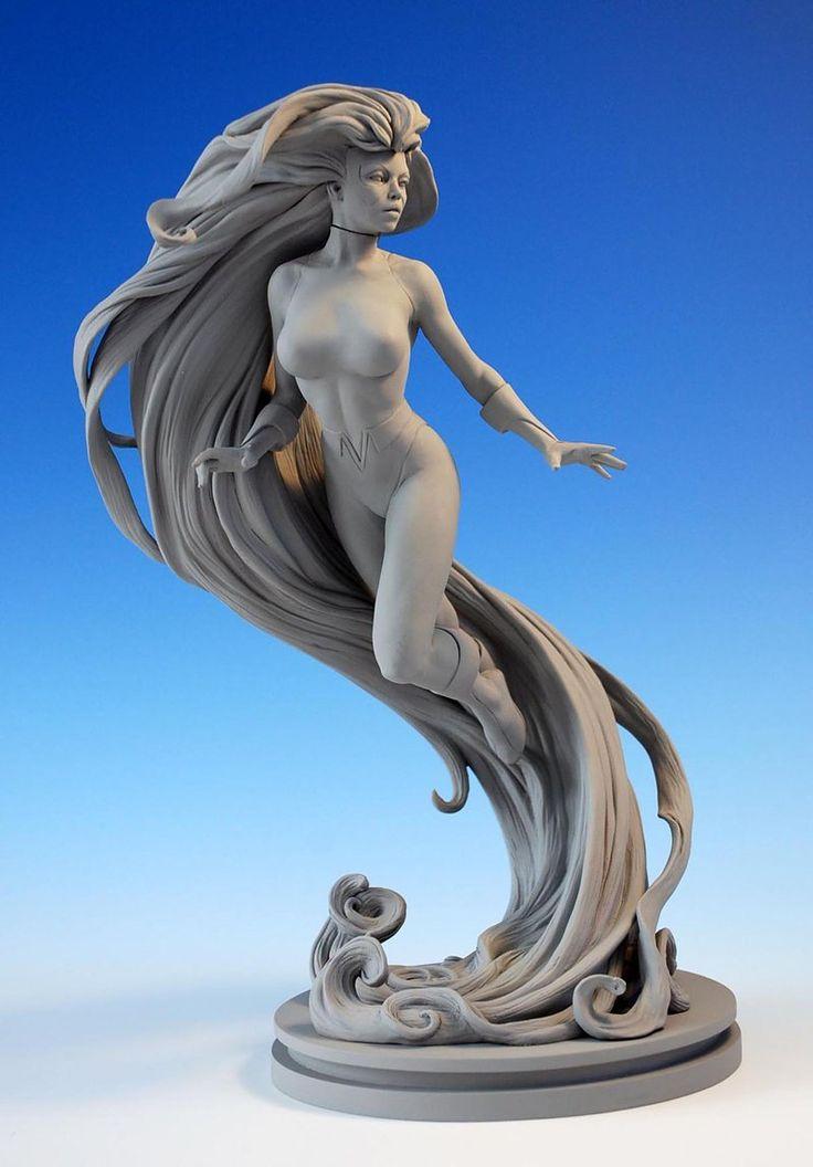 Female Nude Study Spartan Warrior
