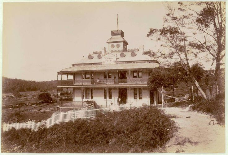 Como Hotel in southern Sydney in 1900.