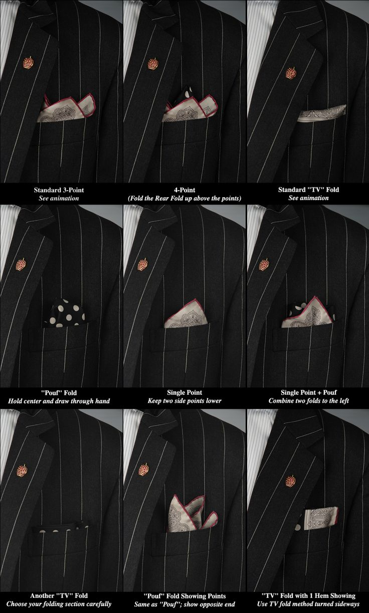 Luxury Hand-Rolled Silk Pocket Squares Good to know!