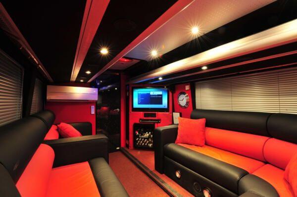 The Boys TMH Tour Bus