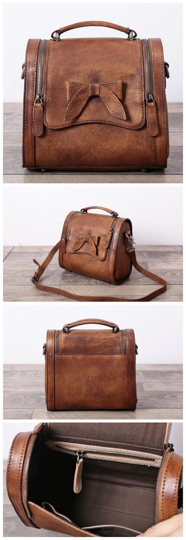 Leather Satchel Bag Doctor Bag Messenger Shoulder Bag We use genuine cow leather, quality hardware and fabric to make the bag as good as it is. •Comfortable Shoulder Strap. • Inside zipper pocket, cel