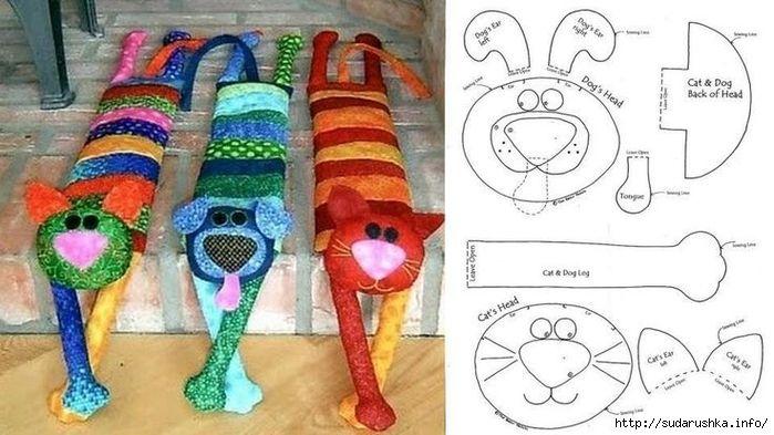 Мобильный LiveInternet И подушка, и игрушка, и коврик. Мастер класс | Сударыня_Галя - Сударыня Галя |