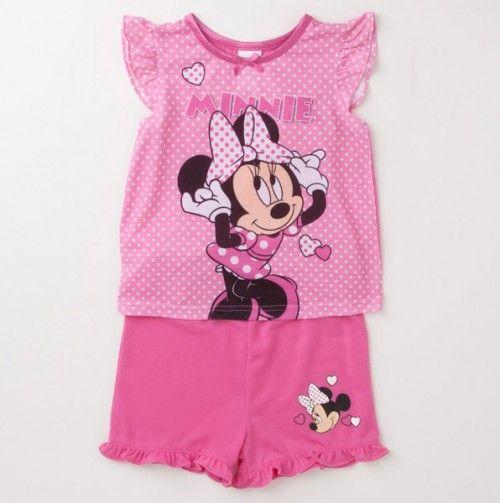 Girls Minnie Polka Dot Pajamas *too cute not to pin* #toddler #sleep #pink #kids #fun #fashion #dream #mickey #mickeymouse #sleepwear #disney #cartoons