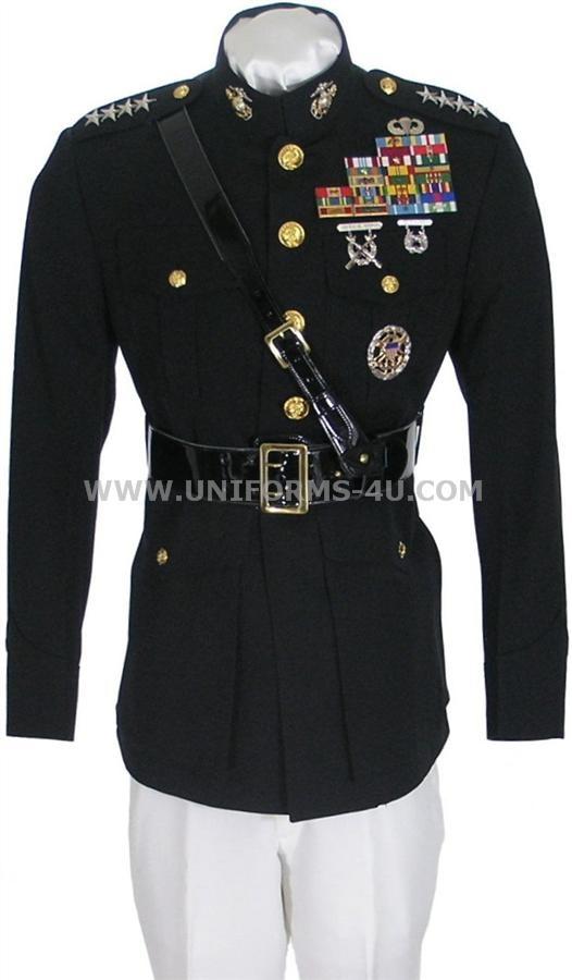 Marine Officer Dress Blue Uniform 89