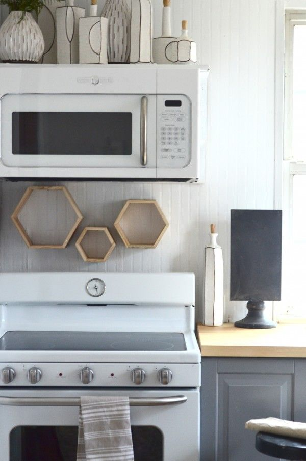 GE Artistry Series -- affordable but clean line, vintage style appliances