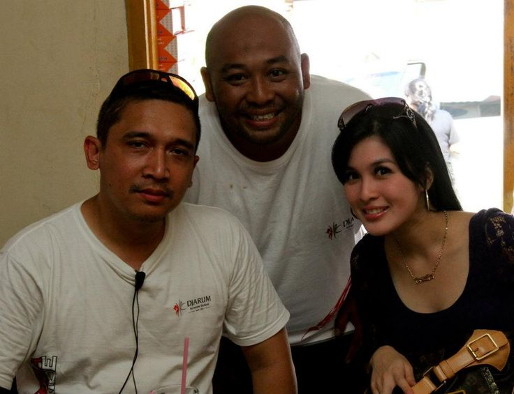 Pangkal Pinang 26/02/2011 with Sandra Dewi