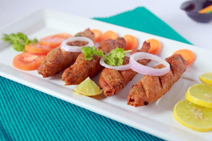 Rinku's Kitchen Treats: Chicken Seekh Kebab/ Murg Seekh Kebab