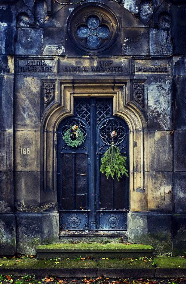 Door in Prague, Czech Republic