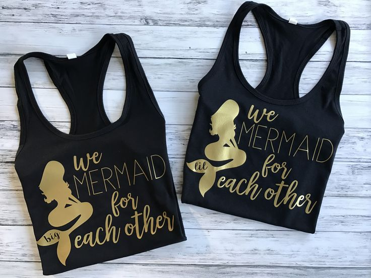 We mermaid for each other - Big Little Sorority Tanks, big little shirts, big little tanks, big little sorority shirts, big little reveal, big little gifts, big little gbig, sorority shirts, big lil shirts, big lil tanks, big lil, big lil sorority, big and lil, big and little