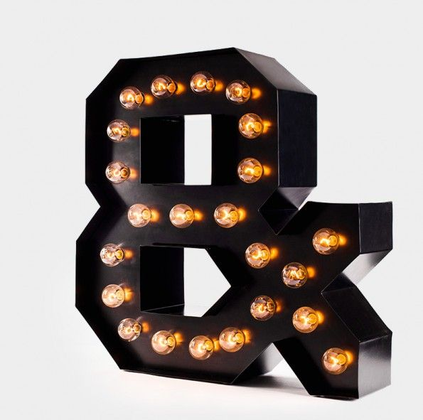 East Lights - all about light! http://eastlights.com/ #marquee #letters #eastlights.com #bulblights #cinemalightbox