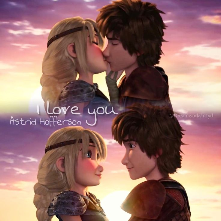 """Astrid- """"Don't say anything. I was being silly."""" Hiccup- """"No, you weren't. I should've noticed the necklace right away, but it's not about that. I've been taking you for granted. I have, and I realized that today. I couldn't have done any of this without you, Astrid, not the Dragon Riders or the Edge. You've always been there for me, and I want to always be there for you. I love you, Astrid Hofferson, with everything I have. And I always will."""" Astrid- """"I know you do. We don't have to be…"""
