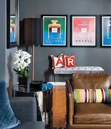 Small space: Moody masculine apartment Little Things Matter