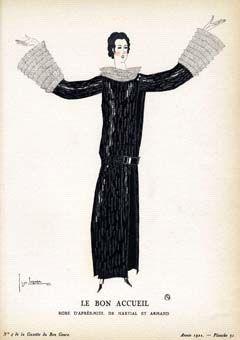 Le Bon Accueil: Robe D'Apres-midi, De Martial Et Armand