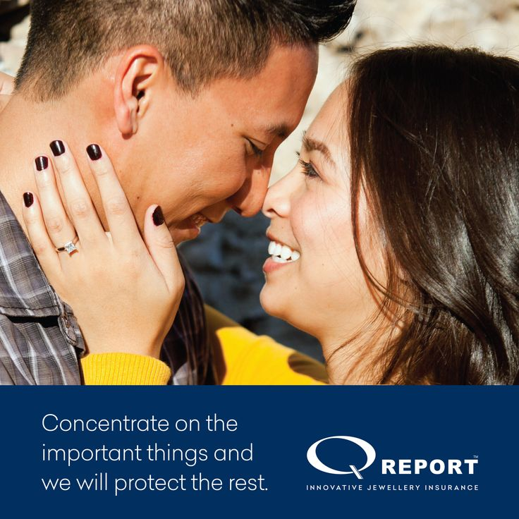 Concentrate on the important things and we will protect the rest :) http://www.qreport.com.au/ #jewelleryinsurance #engagementrings