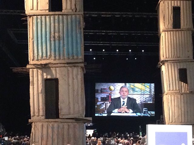 L'intervento di Luiz Inácio da Silva #Lula Ex presidente del Brasile ad #Expoidee #expo2015 #raiexpo