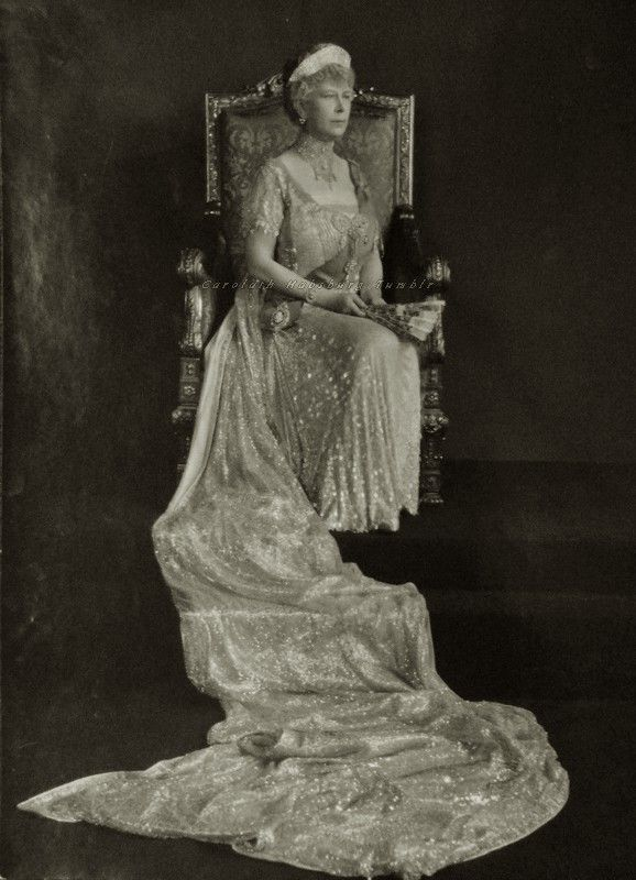 Queen Mary of Great Britain. Mids 1930s.