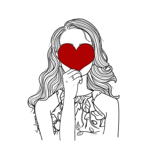 Imagem de love, draw, and heart