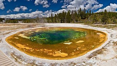 Yellowstonský národní park je jedním z nejznámějších parků světa.