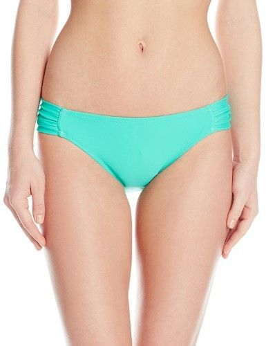 Jessica Simpson Women's Solid Hipster Bikini Bottom