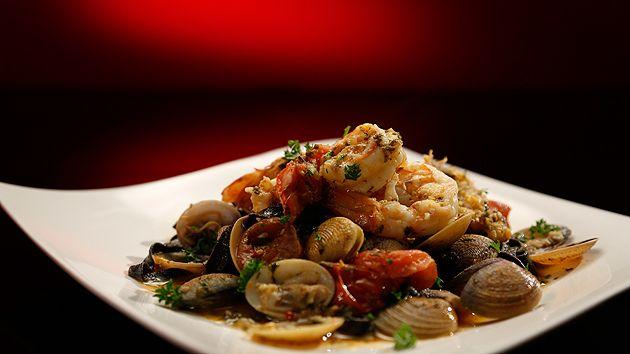 MKR4 Recipe - Seafood Fettuccine