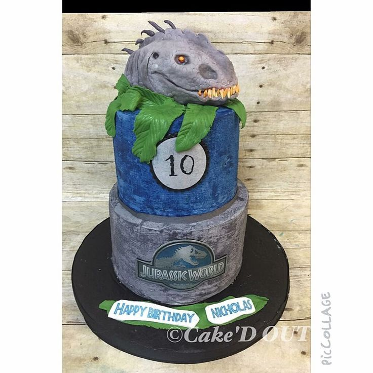 Jurassic World Cake Images